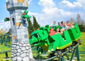 Dragon's apprentice junior in Legoland